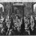 Le repas des courtisans avec le Roi