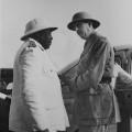 Félix Eboué et Charles de Gaulle