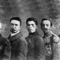Les 5 gueules cassées présent lors du traité de Versailles