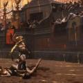 Combat entre gladiateurs par Jean-Léon Gérôme