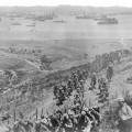 Débarquement des Français sur l'île de Lemnos
