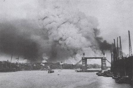Londres pendant la Bataille d'Angleterre