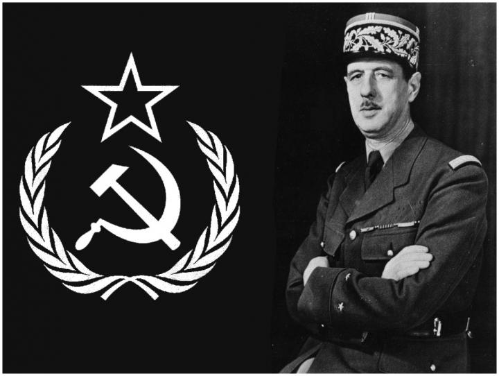 De Gaulles et l'URSS