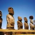 Les moaï de l'Ile de Paques