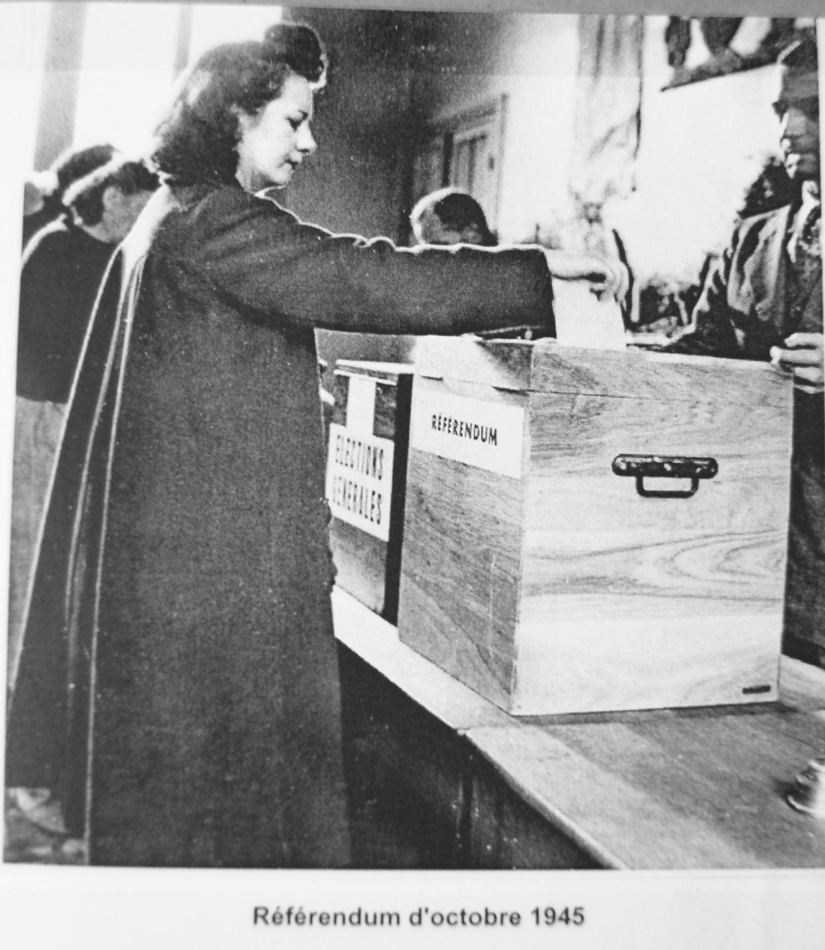 droit de vote femme