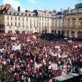 Manifestation contre le FN en 2002