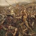 Soldats germaniques par Otto Albert Koch Varusschlacht
