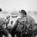 Troupes britanniques débarquant