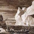 James Cook lors d'une expédition dans l'Antartique