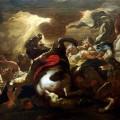 La conversion de Saint Paul sur le chemin de Damas par Luca Giordano