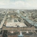 Le palais des Tuileries et le Louvre de Napoléon III par Charles Fichot