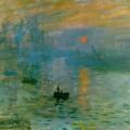 Impression soleil levant de Claude Monet