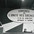 Discours de Mitterrand au Congrès d'Épinay en 1971