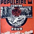 Affiche du Front Populaire