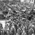 Prisonniers russes lors de la bataille de Tannenberg