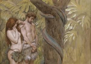 Adam et Eve par Tissot