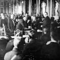 Signature de traité de Versailles