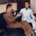 Ho Chi Minh,  Leclerc et Sainteny