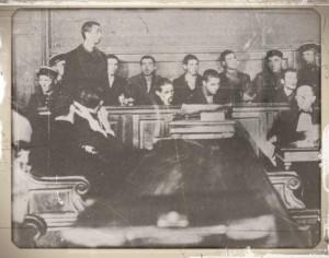 Execution des miliciens de Grenoble en 1944