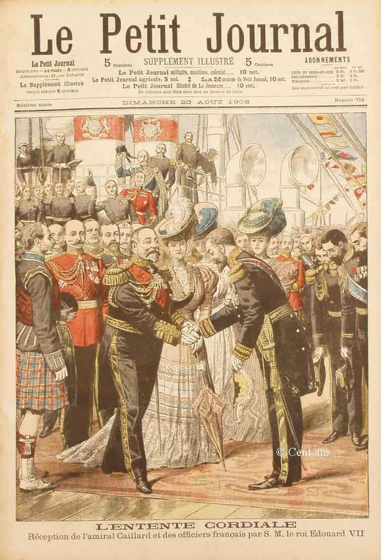 Une du Petit Journal u 20 aout 1905