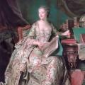 La marquise de Pompadour par Maurice Quentin de La Tour