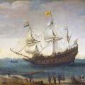 Embarquement du vaisseau des Indes de Hendrick Cornelisz
