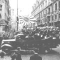 Les Japonais défilant à Shanghai