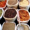 Epices dans un marché Indien