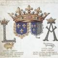 Armes de Louis XII et Anne de Bretagne. La Bretagne intègre le Royaume de France