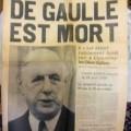 Une du journal France Soir
