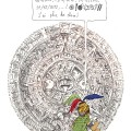 Caricature d'un maya