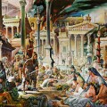 Les Wisigoths entrent à Rome