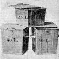 Les premières poubelles