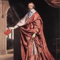 Le Cardinal de Richelieu par Champaigne