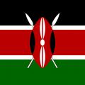 Le drapeau du Kenya