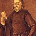 Francisco de Quevedo y Villegas portant des lunettes au XVIe siècle
