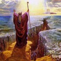 Célèbre miracle: Moïse passant la mer rouge