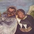 """""""Crispin et Scapin"""" par Honoré Daumier"""