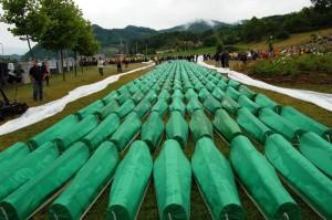 Tombes à Srebrenica