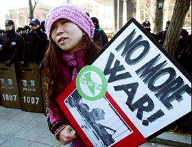 Militante du pacifisme