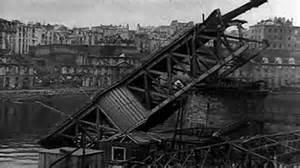 Brest après des bombardements