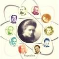 """Couverture du livre """"Marie Curie et les conquérants de l'atome"""""""