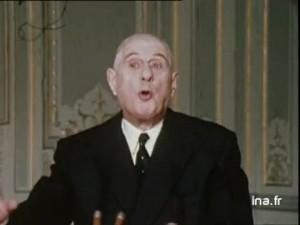 Discours de De Gaulle en 1969