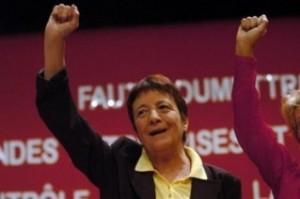 Arlette Laguiller, trotskiste francaise