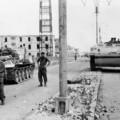 Chars britanniques à Port Saïd