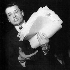 Victor Andréï Kravchenko, au cours du procès qu'il intenta aux Lettres françaises en 1949