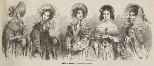 La mode entre 1830 et 1848 par Henri Valentin