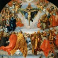 Congrégation de Saints et d'Archanges aux Cieux par Albrecht Dürer