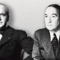 Jacques Chardonne et Paul Morand