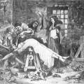 La Marquise de Brinvilliers se faisant torturer